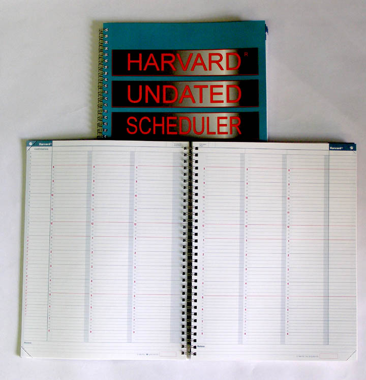 Harvard Undated Scheduler (Code 100)