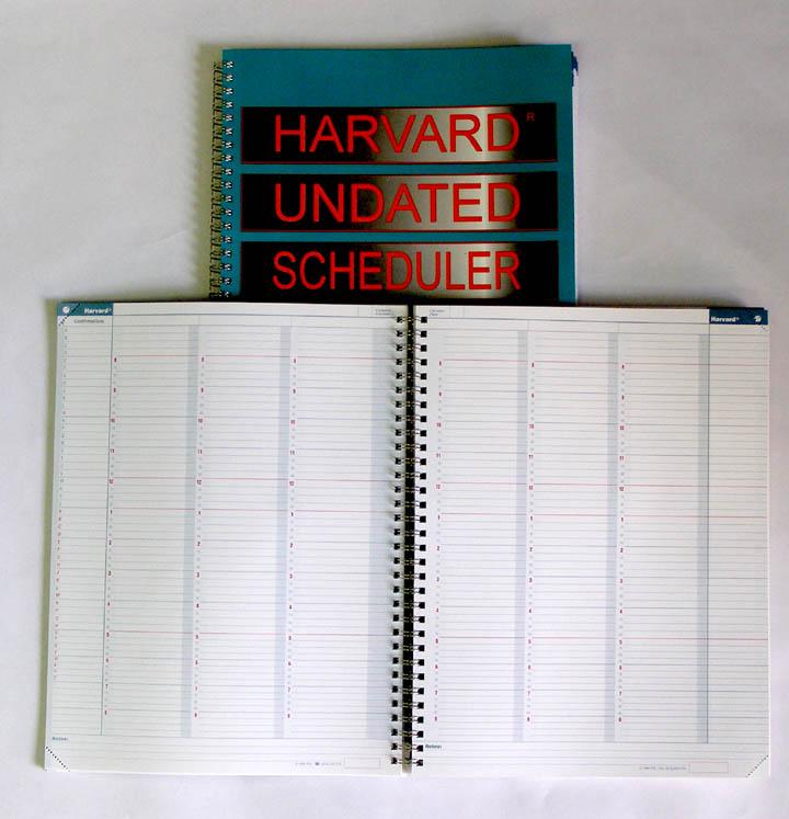 Harvard Undated Scheduler (Code 100)