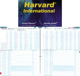 Harvard International Bilingual. Two pages per week. Timetable at the top. Actions below.