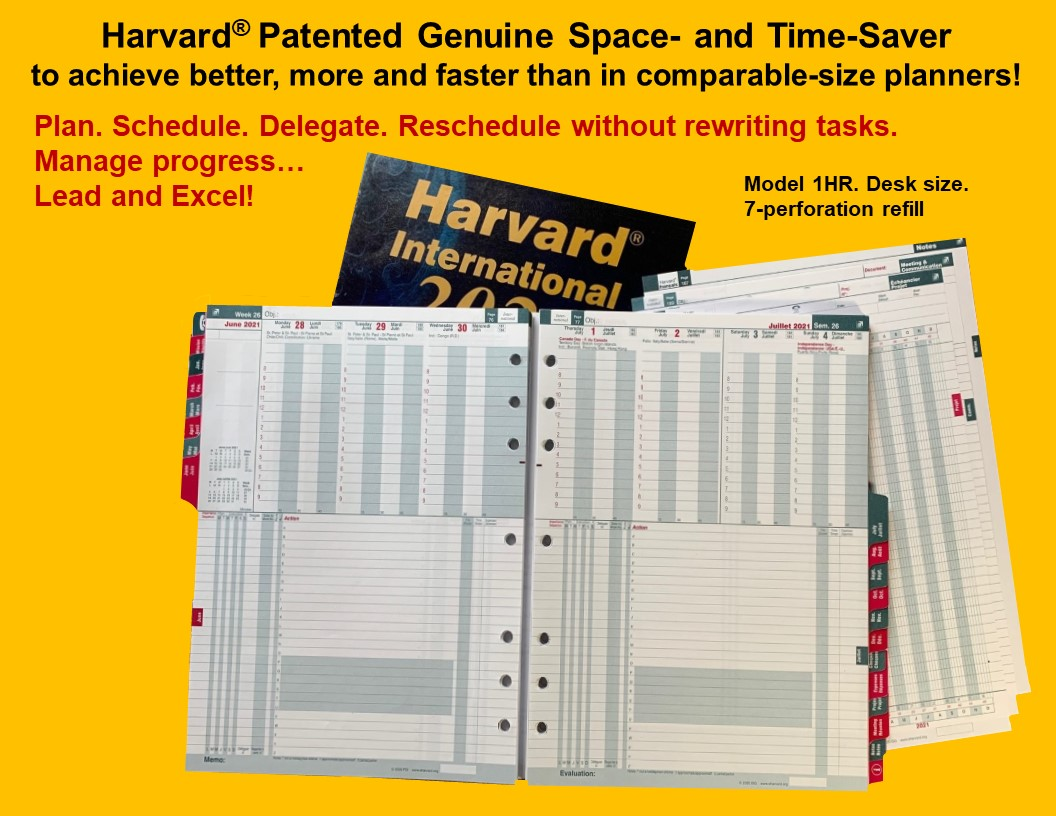 Harvard International Code (1HX)