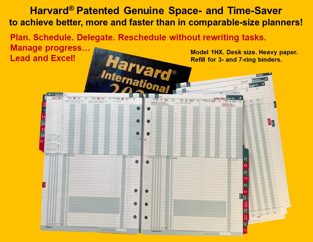 Harvard International Code (1HR)
