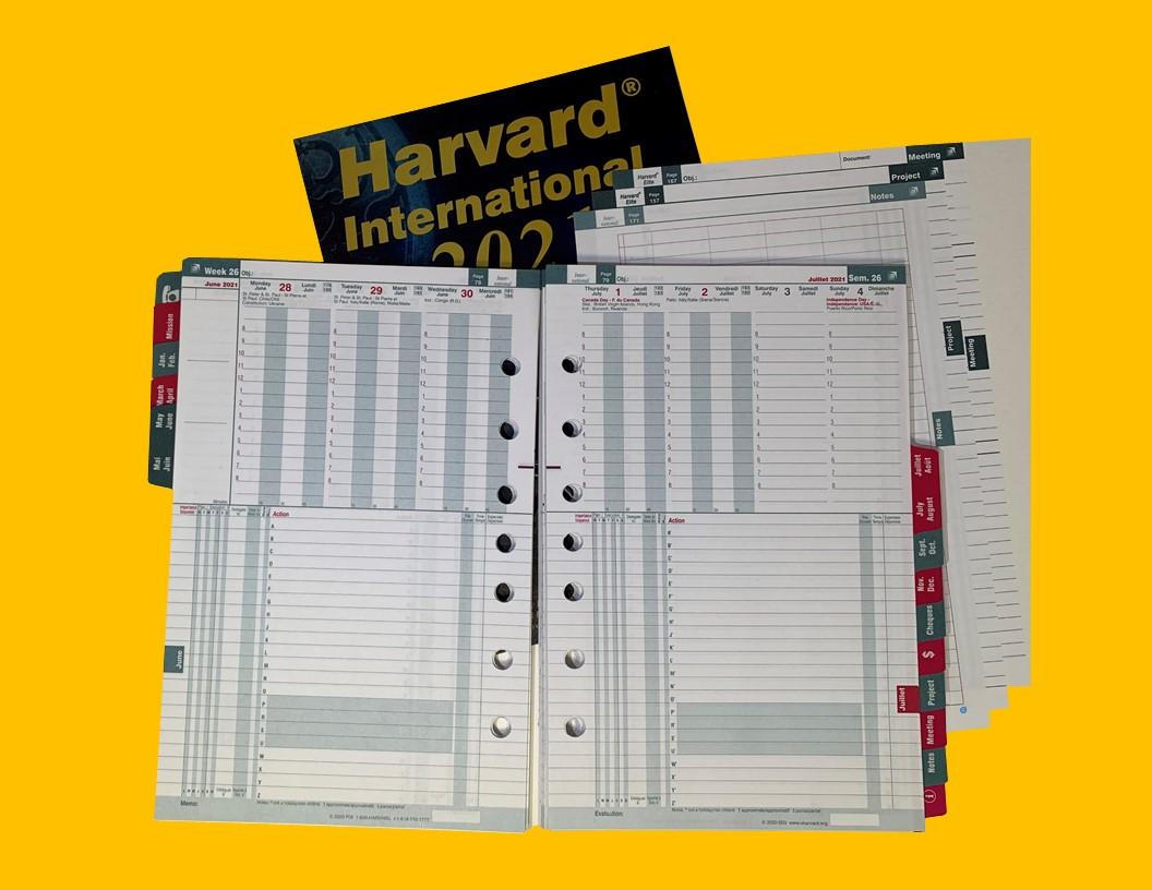 Harvard International Code (2HR)