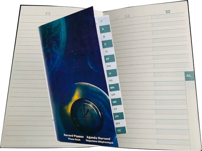 Address Book with World Atlas (Code ADR)