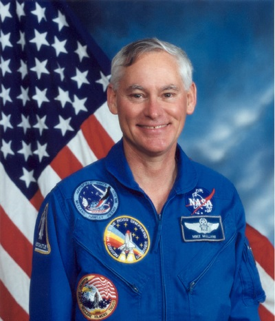 Astronaut Mike Mullane